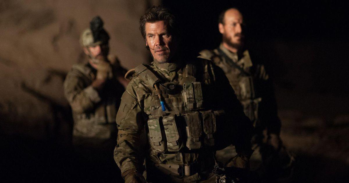 Josh Brolin in a scene from Sicario: Day of the Soldado