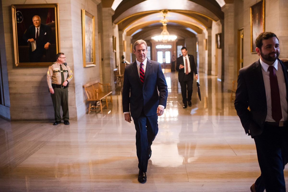 Gov. Bill Lee became Tennessee's 50th governor in January and pledged to make K-12 education a priority, including providing parents with more choices.