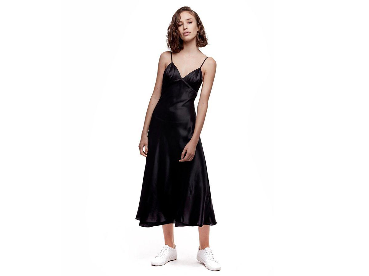 Daya by Zendaya Satin Slip Dress, $38