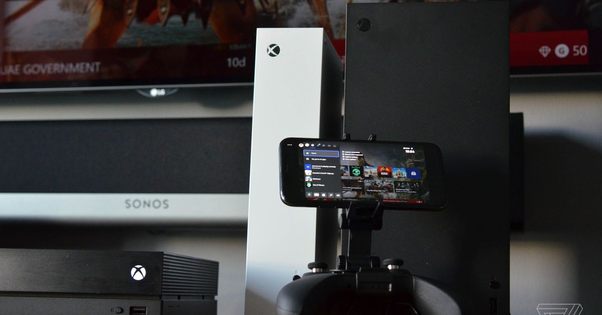 Microsoft's new Xbox app will let you stream Xbox One games to your iPhone – The Verge