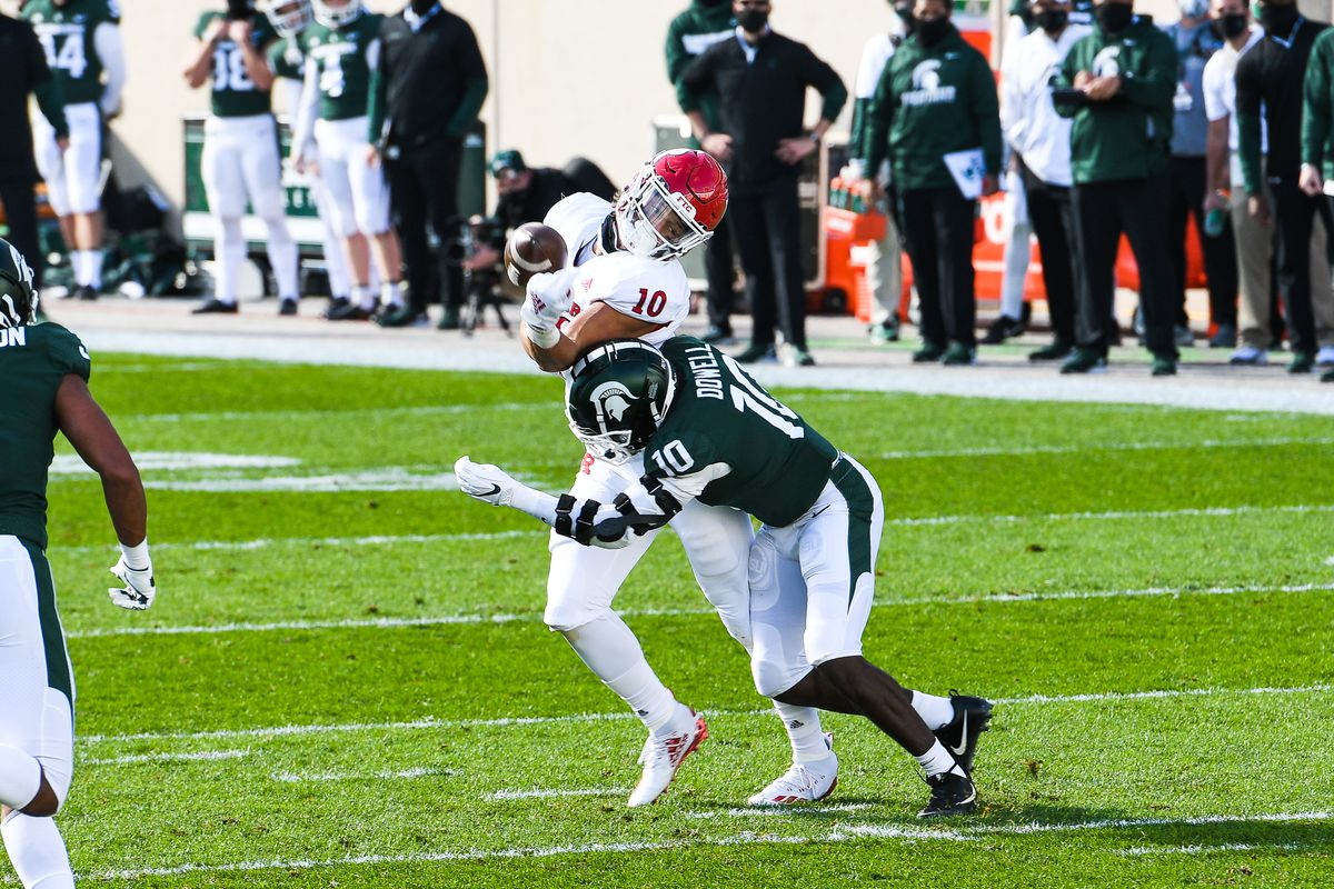 COLLEGE FOOTBALL: OCT 24 Rutgers at Michigan State