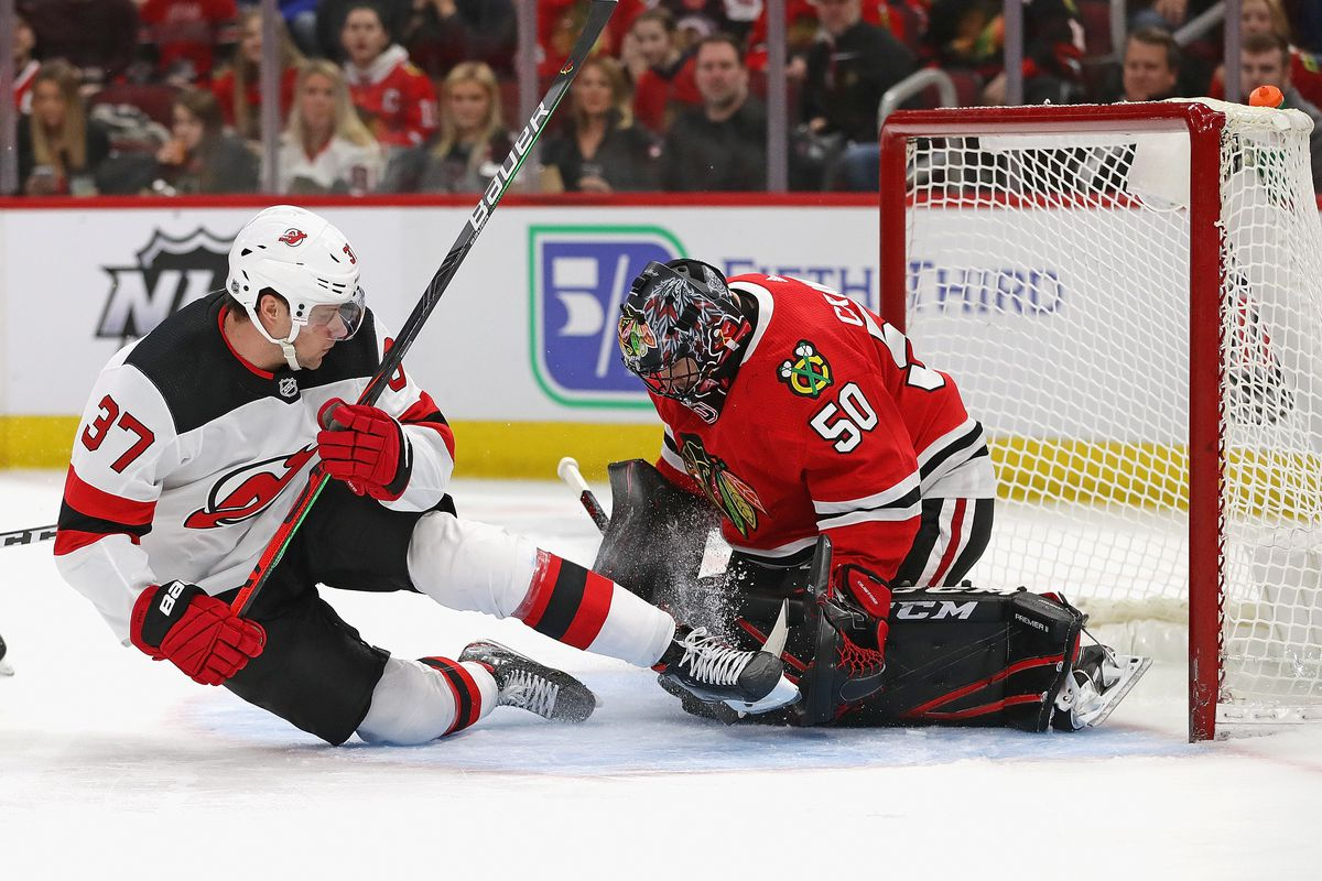 Former Blackhawks Goalie Corey Crawford Signs 2 Year 7 8 Million Contract With Devils Second City Hockey