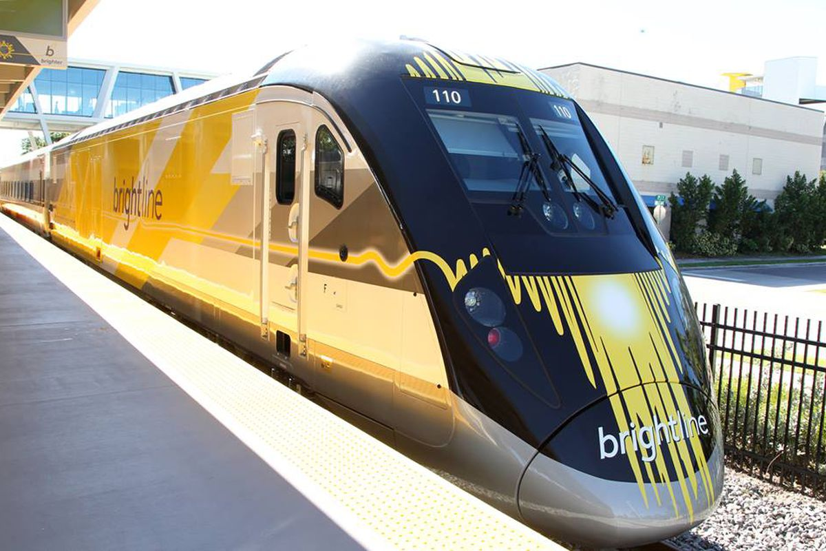 florida's brightline train starts service to ft. lauderdale