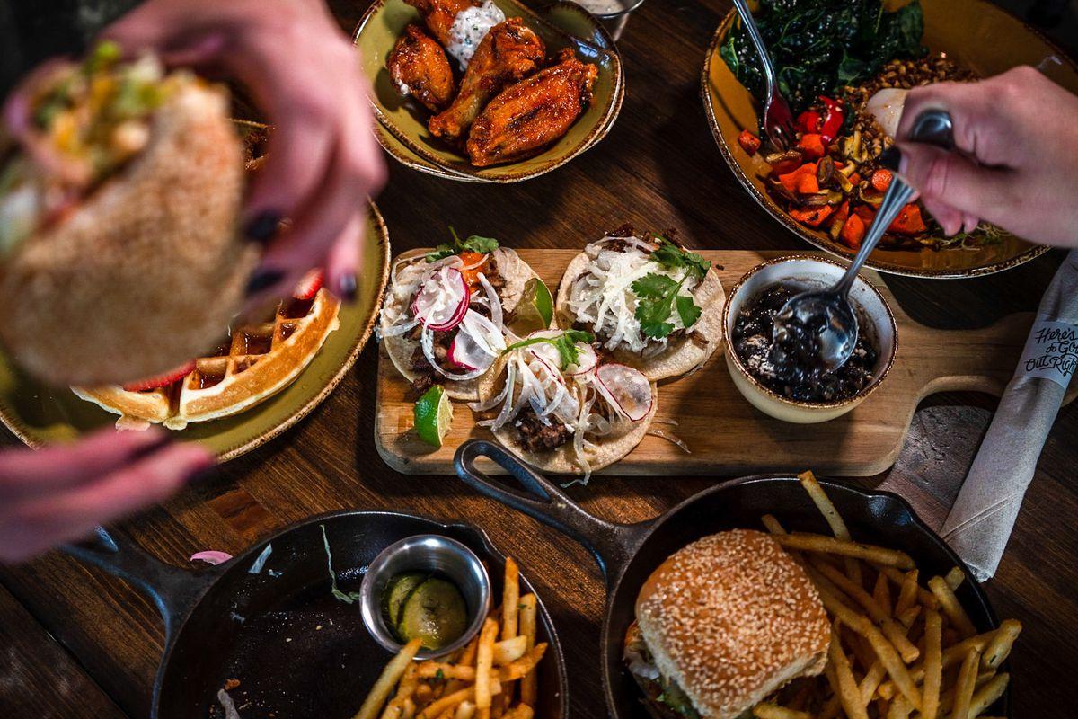 Food at Punch Bowl Social