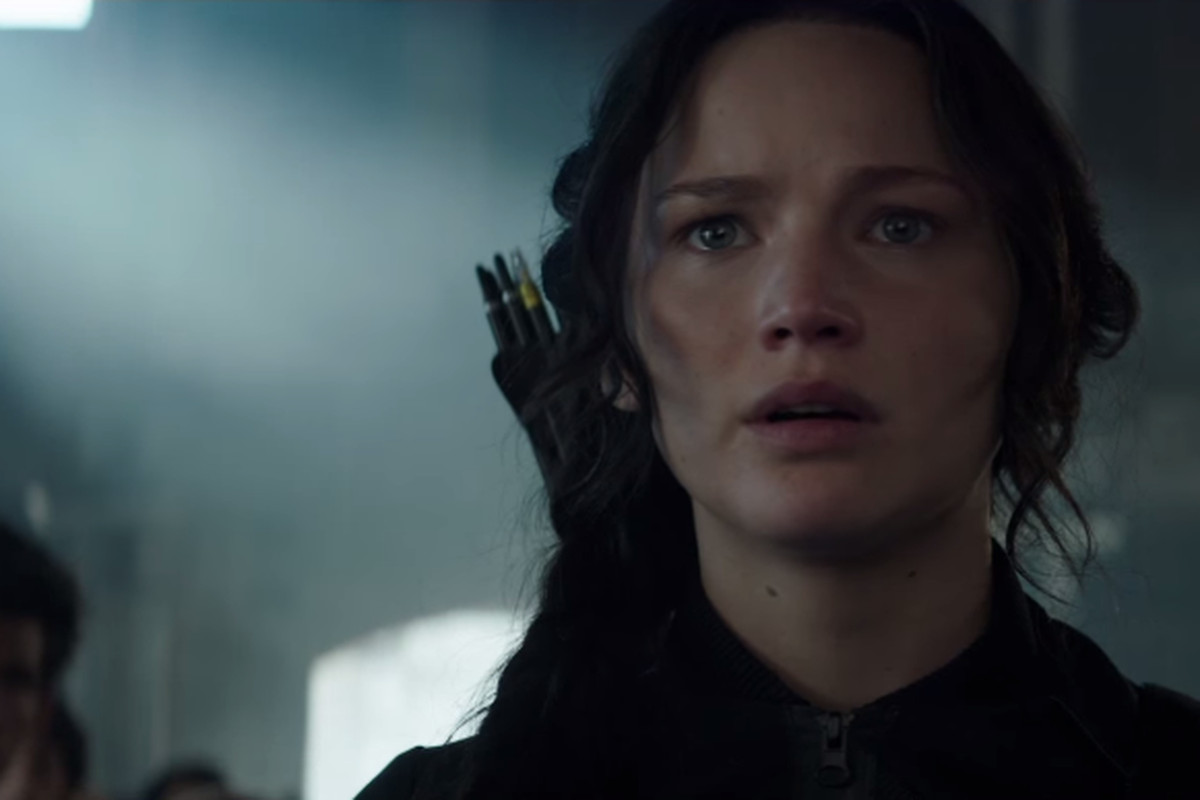 Jennifer Lawrence plays Katniss Everdeen in the Hunger Games franchise