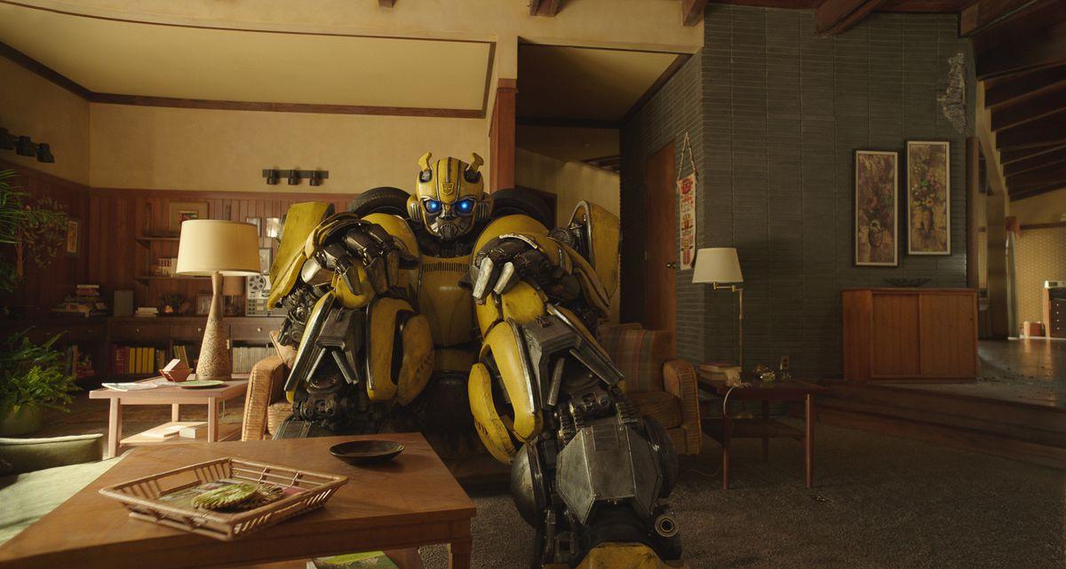 bumblebee home scene