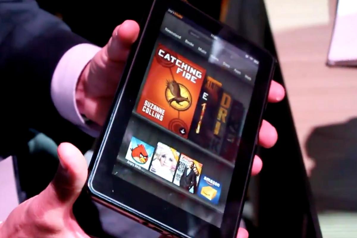Amazon Kindle Fire hands-on