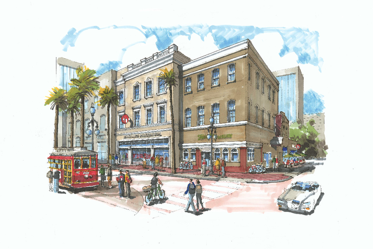 Hi New Orleans Breaks Ground On Its New Canal Street Hostel Curbed New Orleans