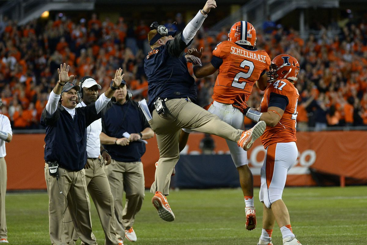Illinois tries to keep their high-flying offense rolling as Miami(OH) stumbles into town.