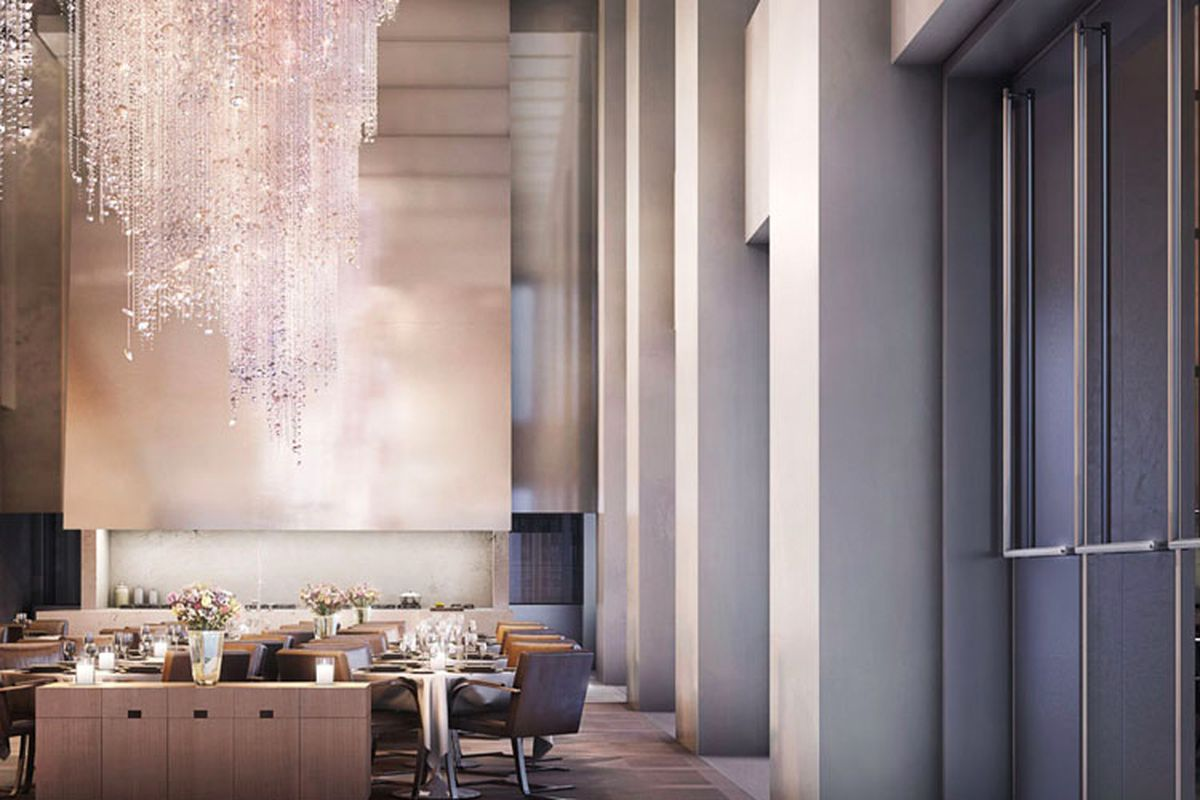Rich Apartment Dwellers Get In Building Restaurants Eater