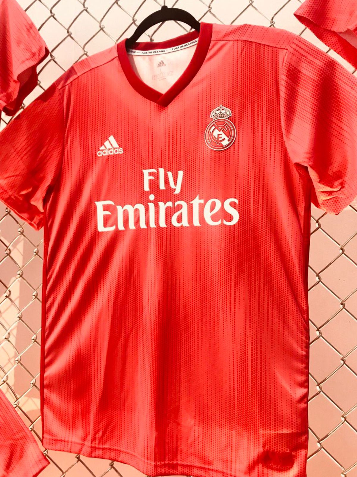 1587e6b7e Real Madrid Unveil New Red 3rd Kit made of Recycled Sea Plastic ...