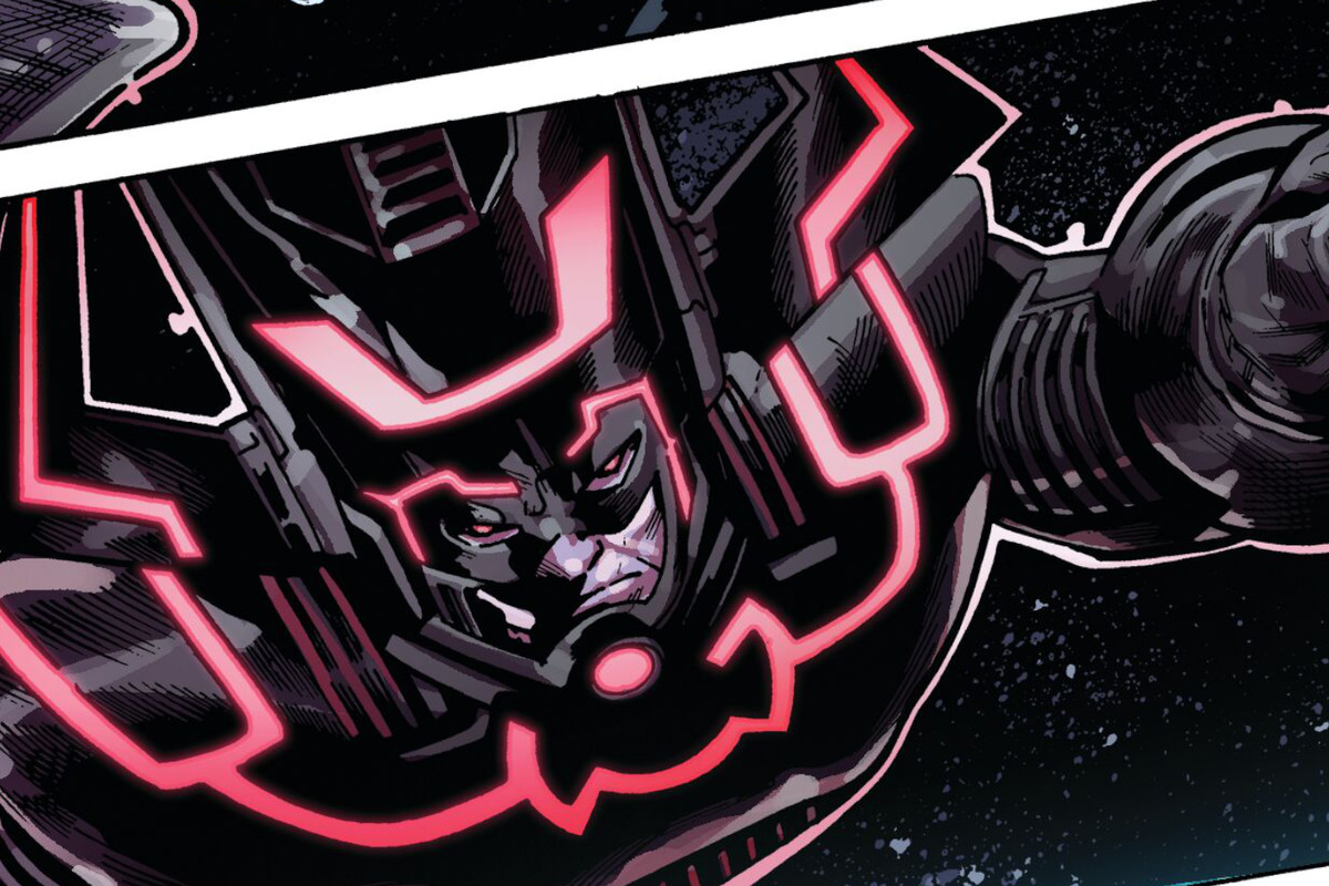 Galactus in an in-game Fortnite comic