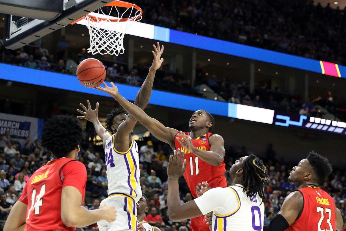 Maryland basketball Darryl Morsell vs. LSU NCAA Tournament