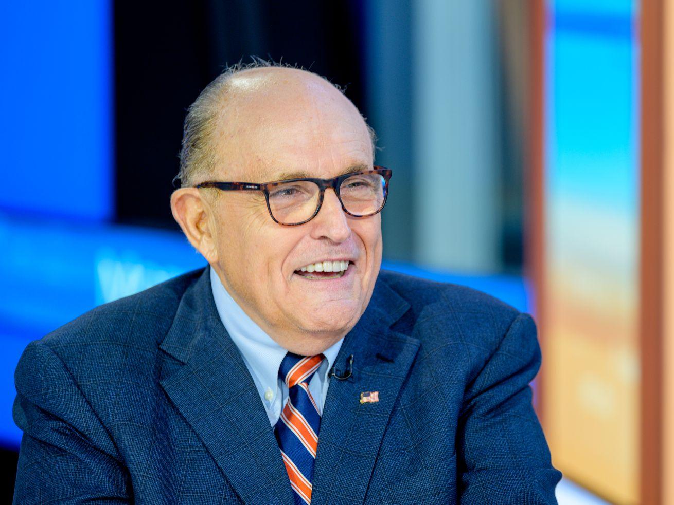 Former New York City mayor and attorney to President Donald Trump Rudy Giuliani.