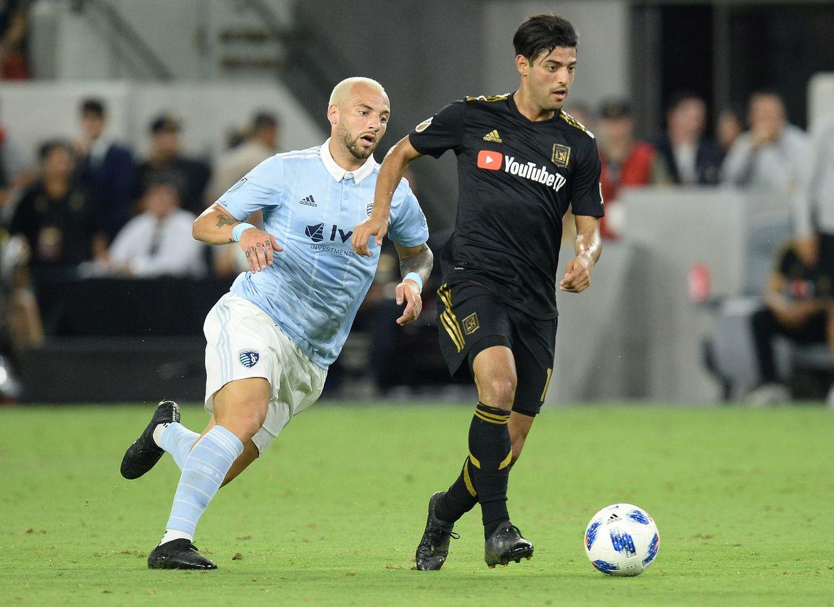 MLS: Sporting KC at Los Angeles FC