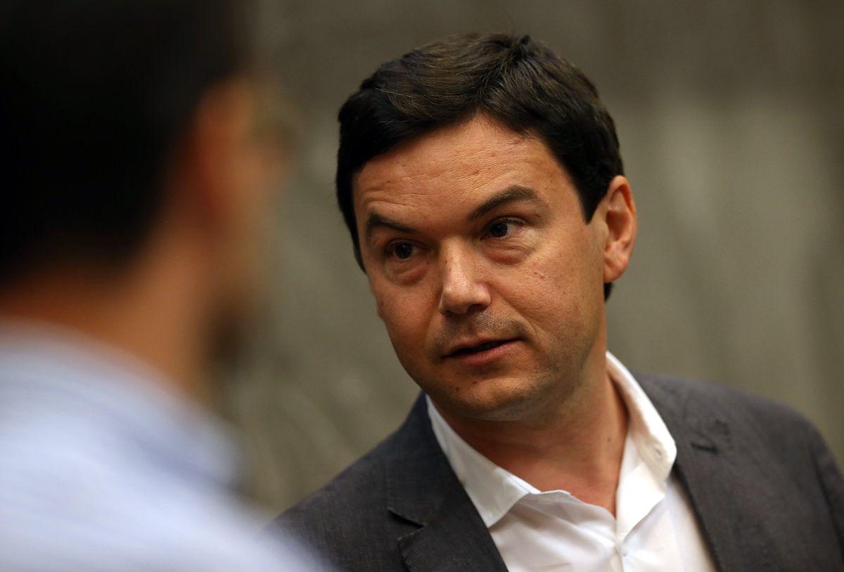 Best Selling Economist Author Thomas Piketty Speaks At UC Berkeley