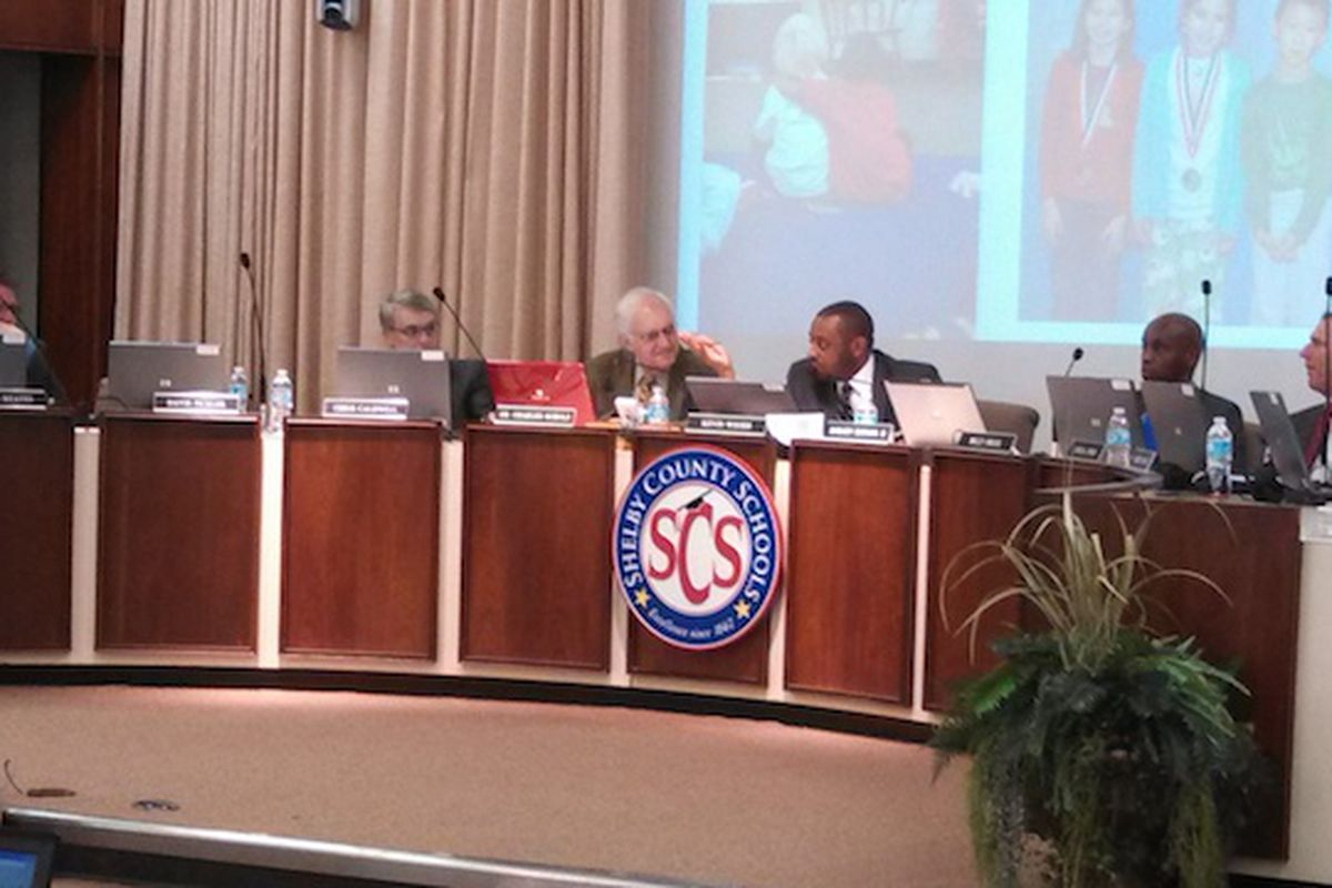 Shelby County School Board meets for January business meeting.