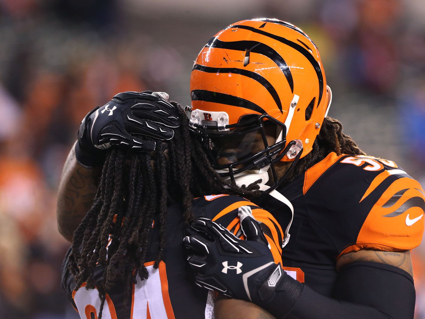 Bengals players and coaches react to Brandon Tate's release ...