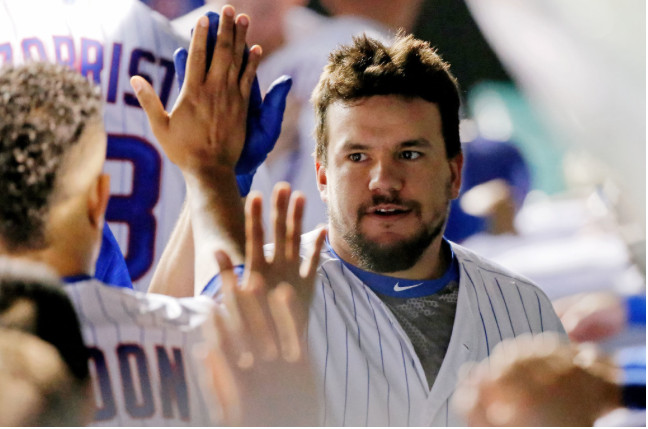 <em>Kyle Schwarber hit two home runs as the Cubs racked up 20 hits for the first time since 2014 against the Cardinals.</em>