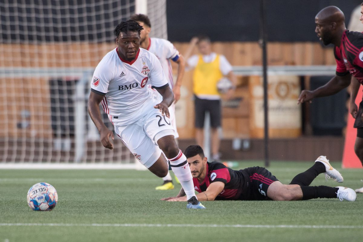 MLS: Canadian Championship Semifinal-Toronto FC at Ottawa Fury FC