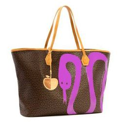 Icon Duchess Snake East-West Tote