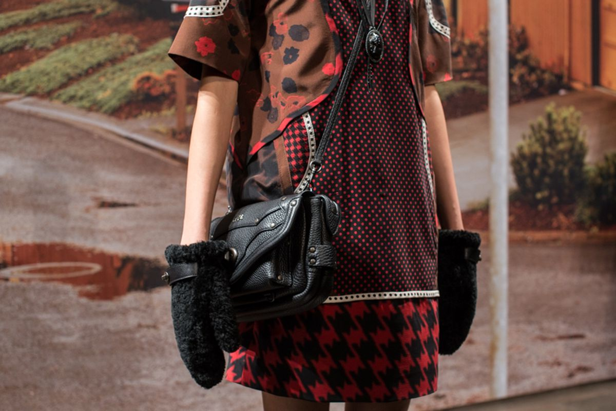 Coach's Fall 2014 presentation. Photo: Driely S. for Racked