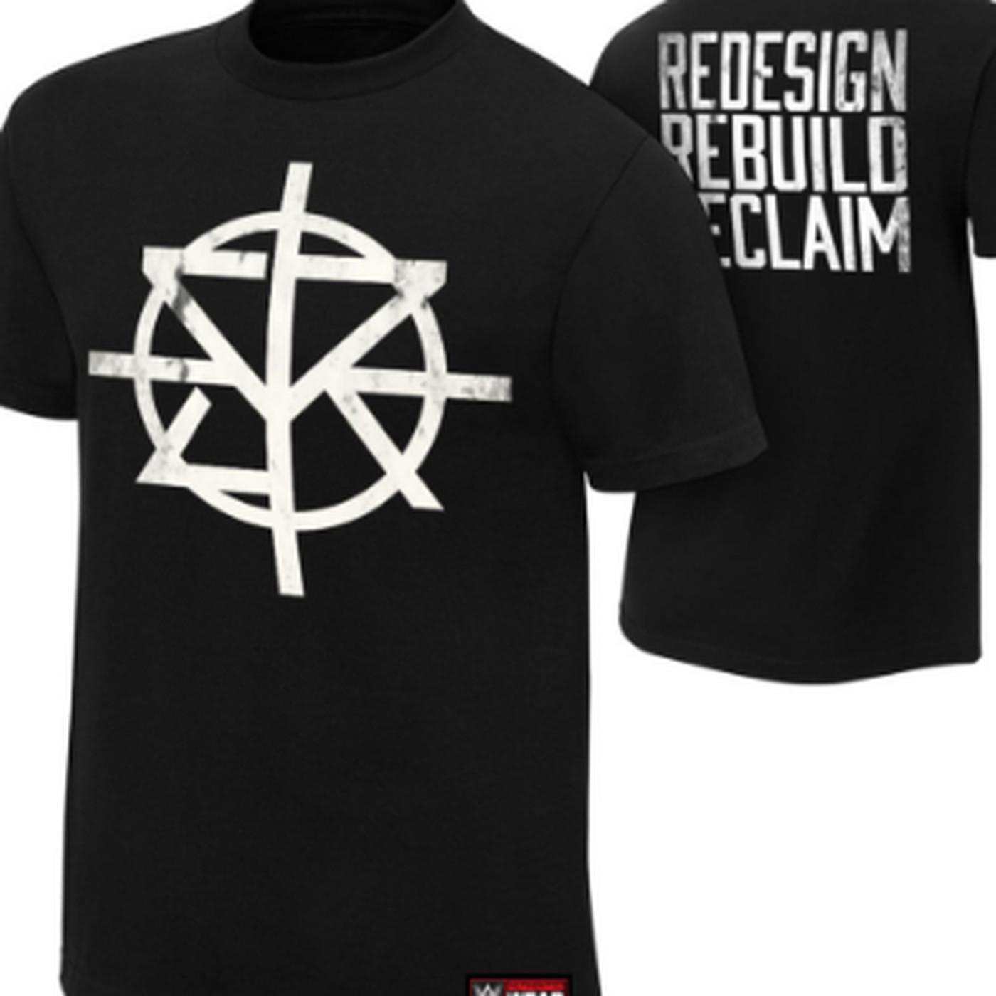 seth rollins new shirt has crosshairs on it something something
