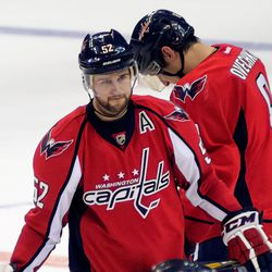 Green and Ovechkin Not Looking Happy