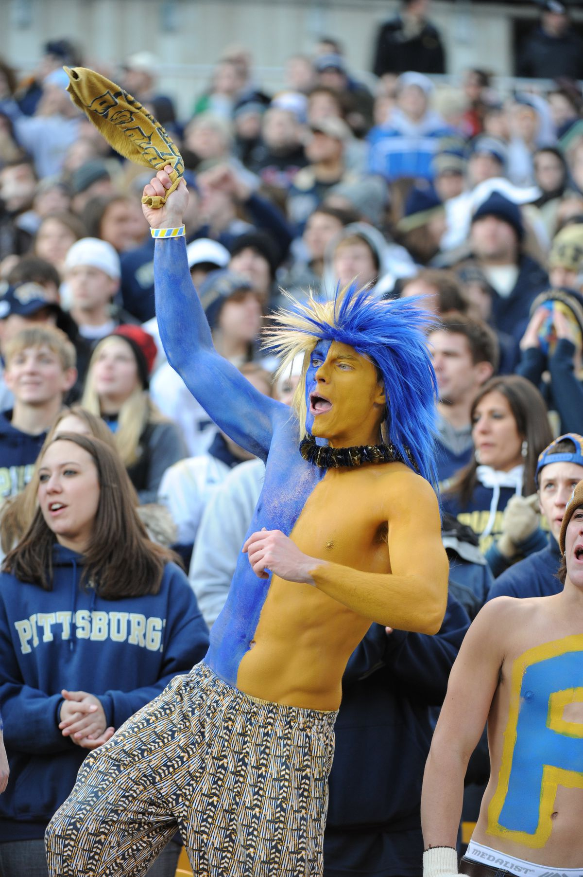 West Virginia Mountaineers v Pittsburgh Panthers