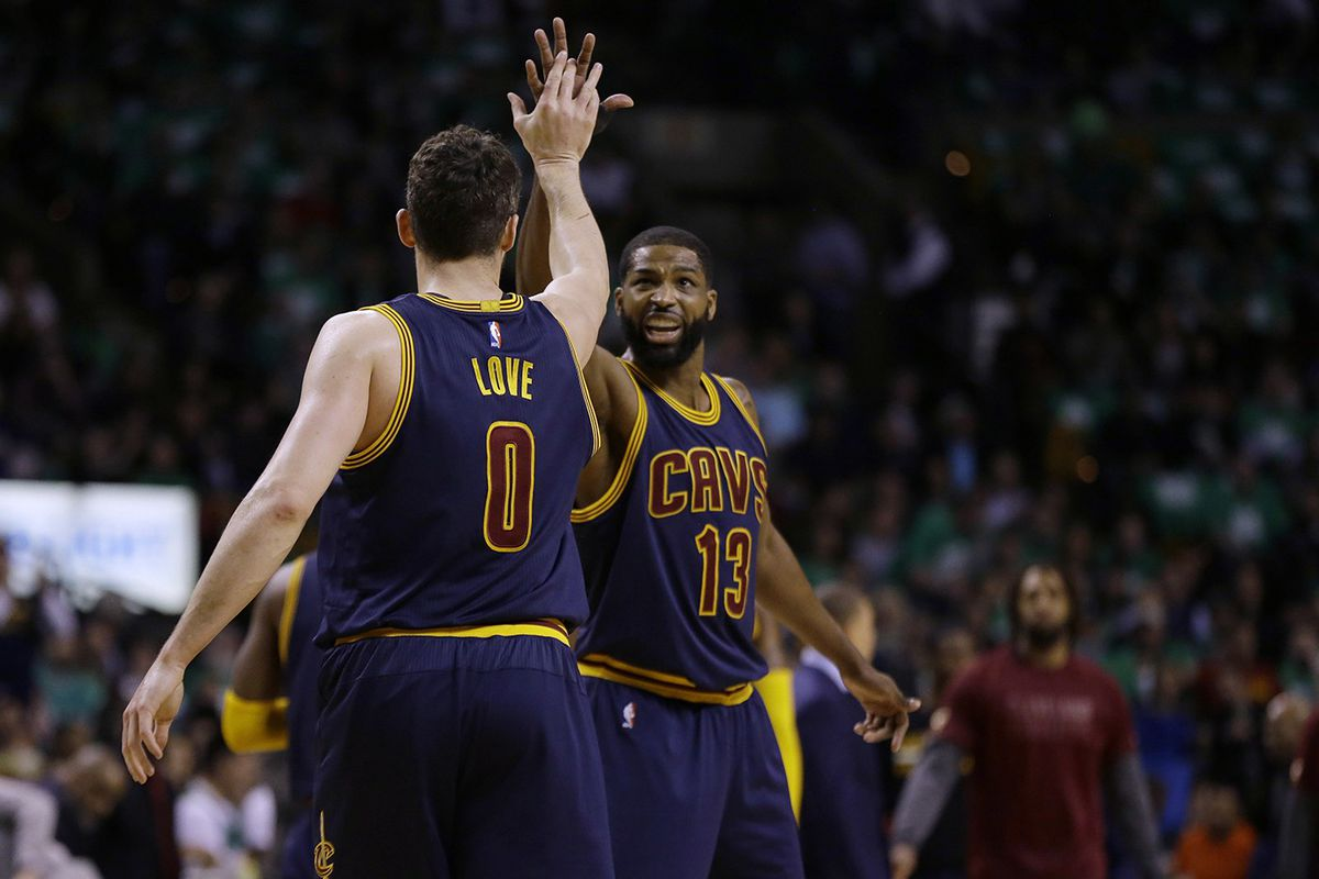 Kevin Love and Tristan Thompson (APImages)