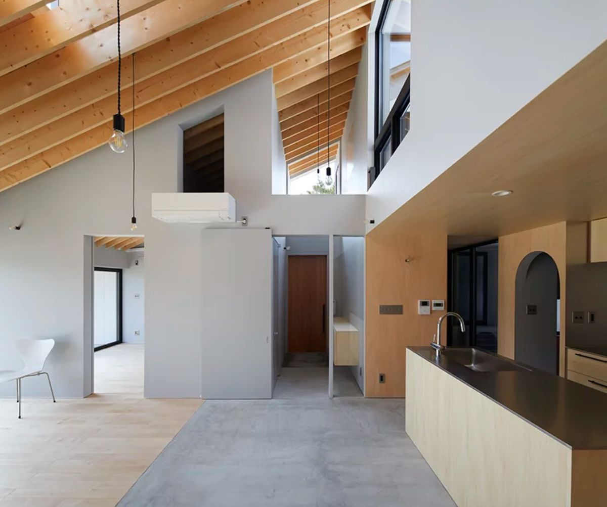Modern house in japan has a climbable roof curbed - How to design a home ...