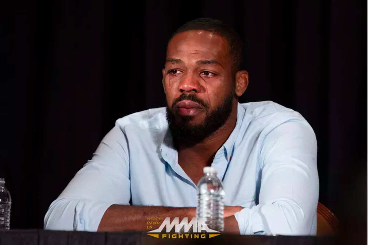 Jon Jones UFC 200 press conference by Esther Lin MMA Fighting
