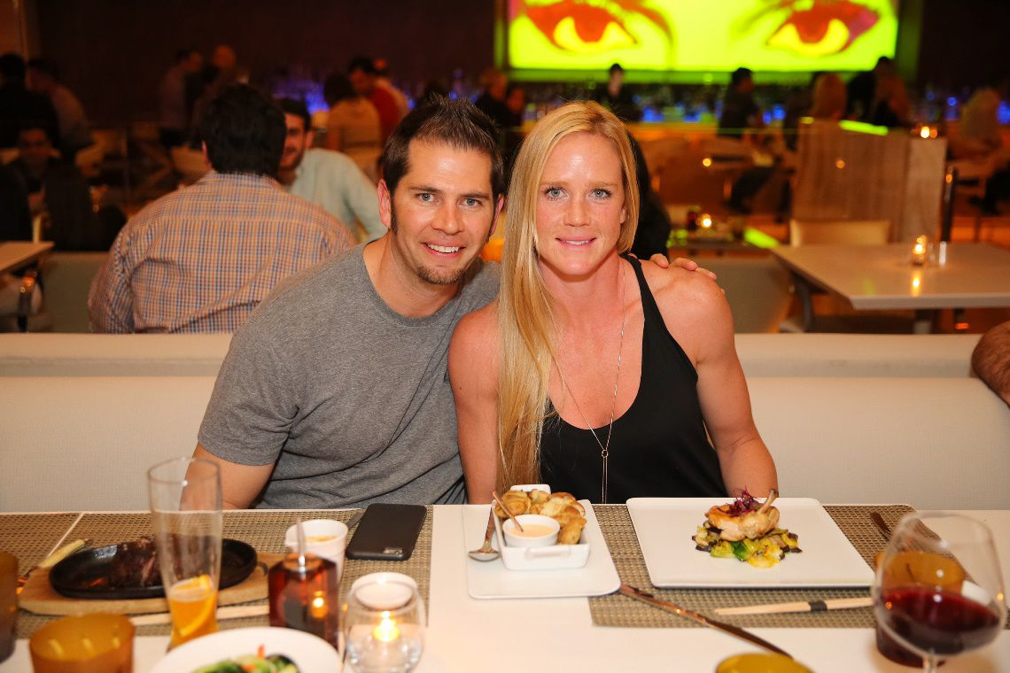 Jeff Kirkpatrick and Holly Holm