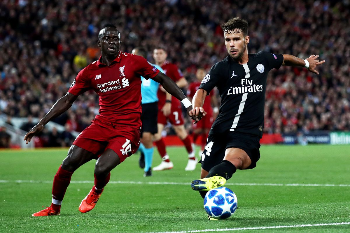 Former Southampton forward Sadio Mane will feature for Liverpool as Mark Hughes' Saints travel up to Anfield.