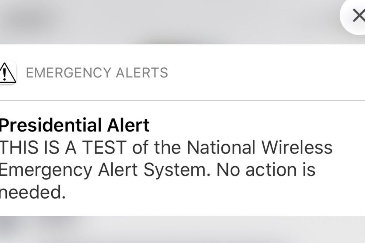 On Wednesday, the Federal Emergency Management Agency sent its nationwide Wireless Emergency Alert to thousands of Americans, according to Herb Scribner's report for the Deseret News.