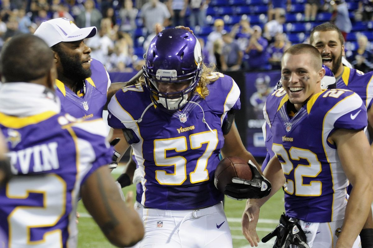 By The Way The Vikings Released OMG AUDIE COLE Daily Norseman - Audie cole