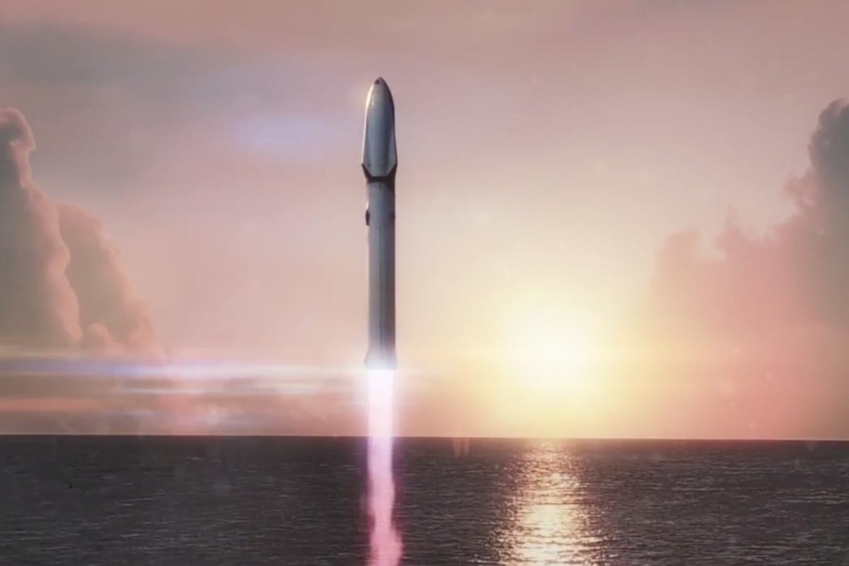 SpaceX's planned Mars rocket will be reused 1,000 times