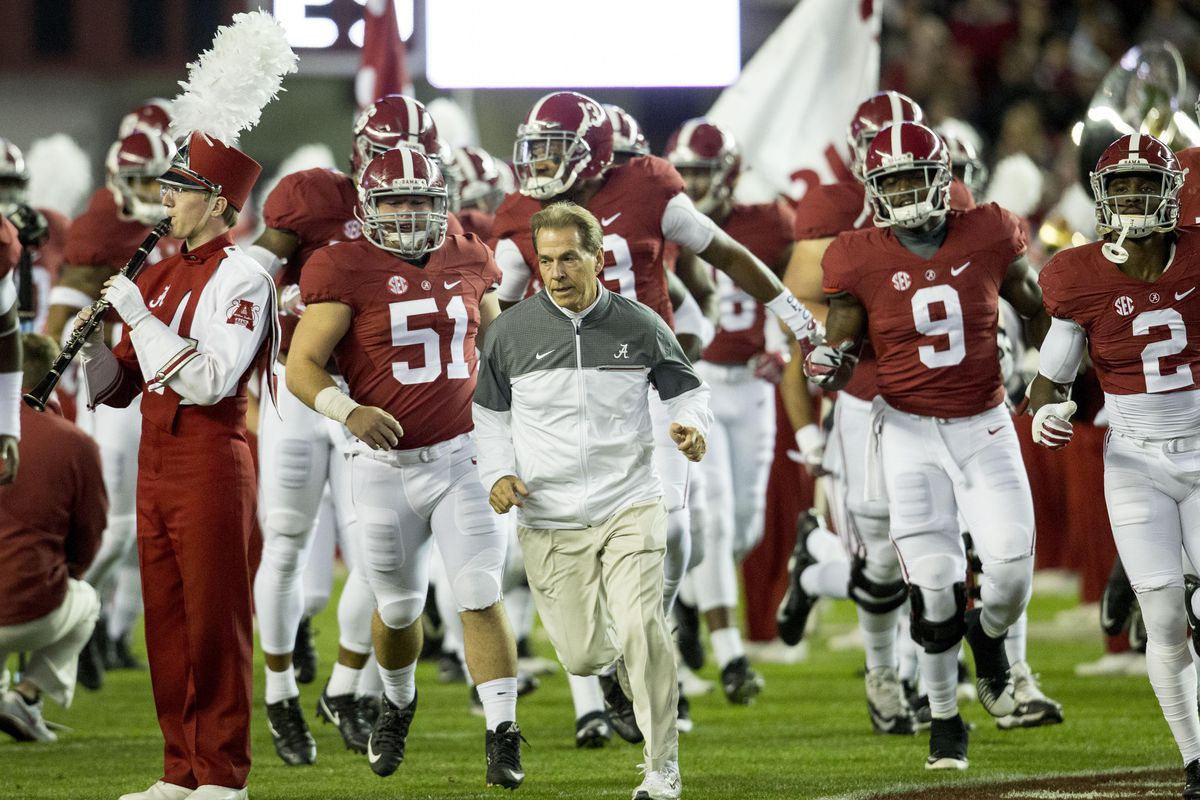 NCAA Football: Chattanooga at Alabama