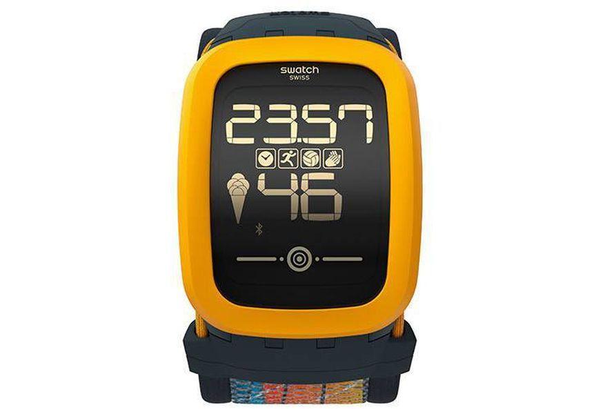 Swatch announces new touchscreen watch with fitness ...