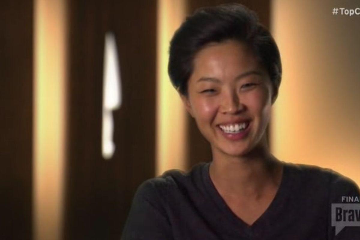 Top Chef Seattle winner Kristen Kish