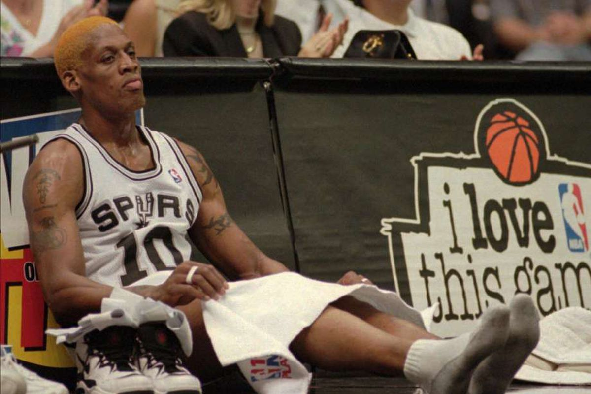 Looking back at Dennis Rodman's brief but eventful stint with the ...