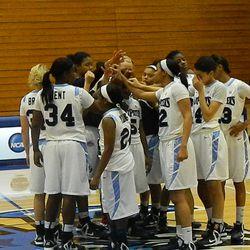 The St. Peter's women's basketball team.