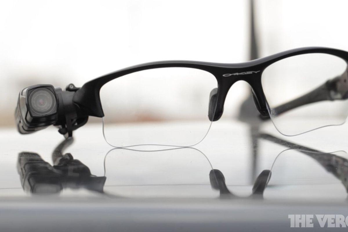 Video recording glasses