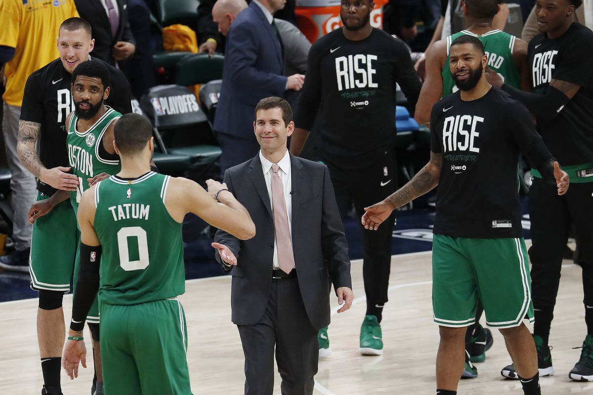 In sweep of Pacers, Celtics show strength in numbers