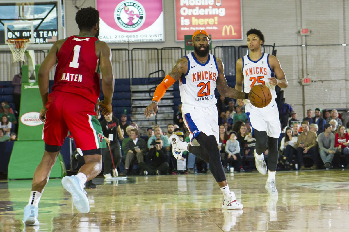 Westchester Knicks at Maine Red Claws