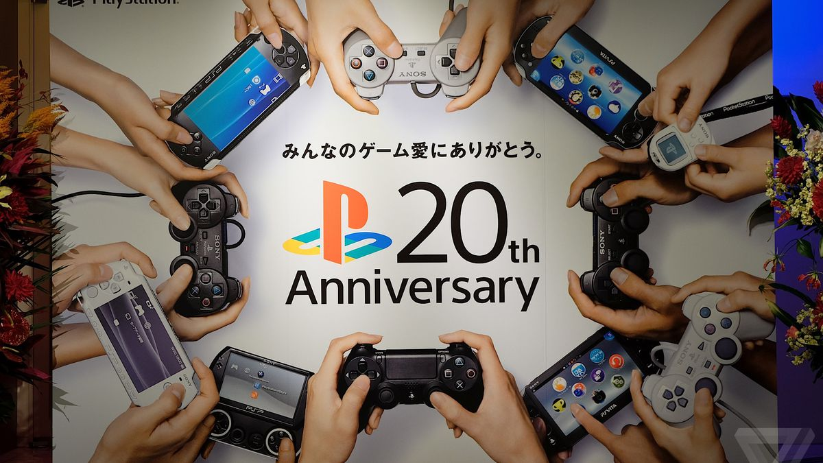The PlayStation is 20 years old today - The Verge