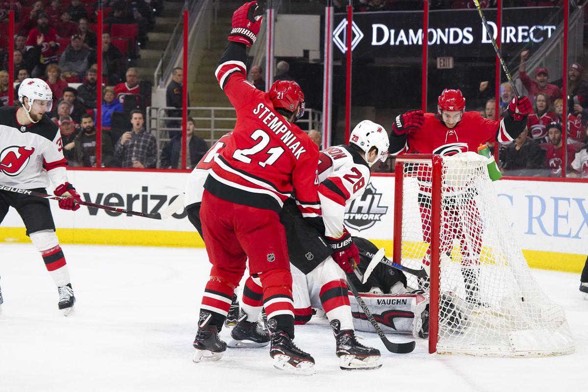 NHL: New Jersey Devils at Carolina Hurricanes