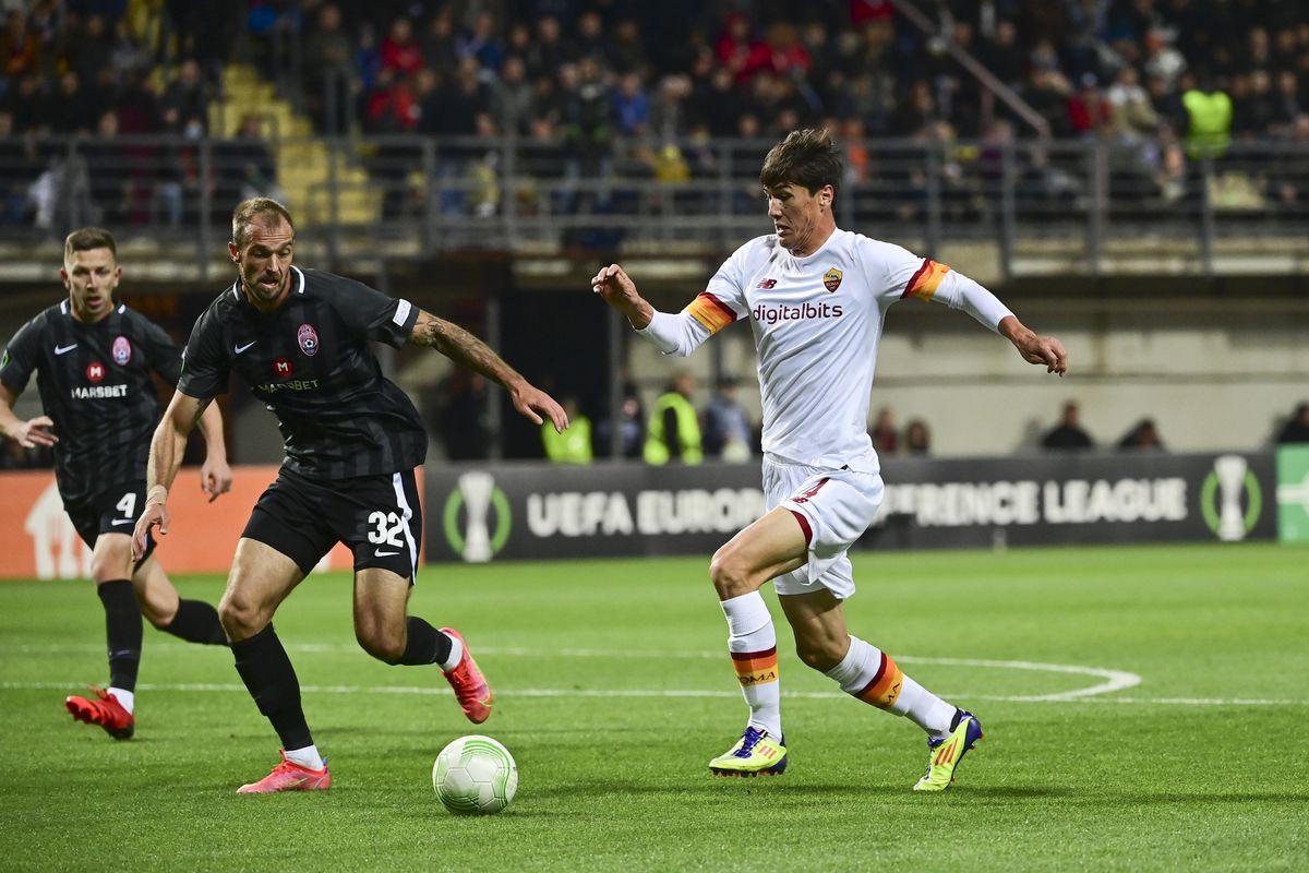 Zorya Lugansk v AS Roma: Group D - UEFA Europa Conference League