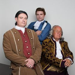 Todd Wente (John Adams), Daniel Sessions (Thomas Jefferson) and Dave Hill (Benjamin Franklin) will portray the famous founding fathers on Monday, Wednesday and Friday.