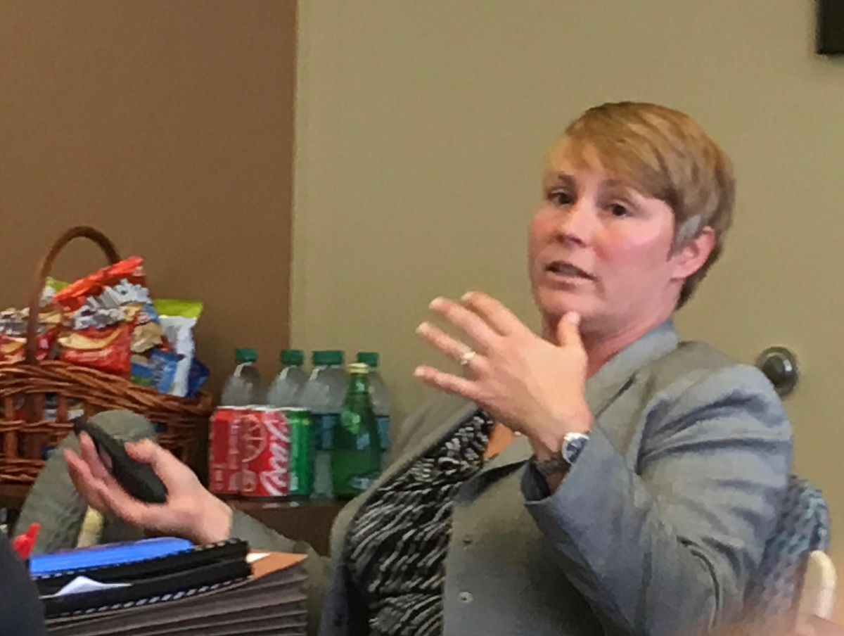 Michelle Stuart, Shelby County Schools' manager of facility planning and property management.